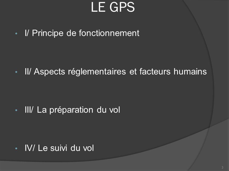 LE GPS Attention, la confiance excessive est souvent responsable dincidents ou daccidents Le GPS peut altérer la perception et lanalyse de la situation Le GPS peut devenir un pôle dattraction qui consomme les ressources du pilote et peut lui faire perdre la notion du temps particulièrement en situation dégradée Ne pas privilégier le GPS au pilotage et à la vigilance extérieure 24 II/ Aspects réglementaires et facteurs humains (6/7)