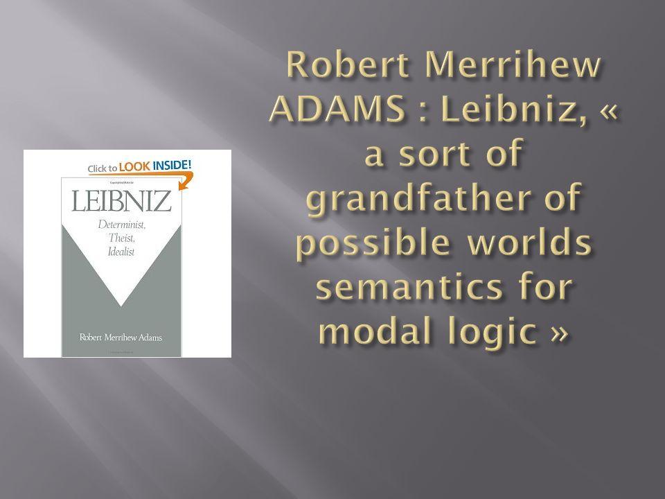 Le carré dApulée, qui apparaît explicitement dans les premiers écrits juridiques, est-il un loutil herméneutique adéquat pour suivre la constitution de la métaphysique modale leibnizienne .