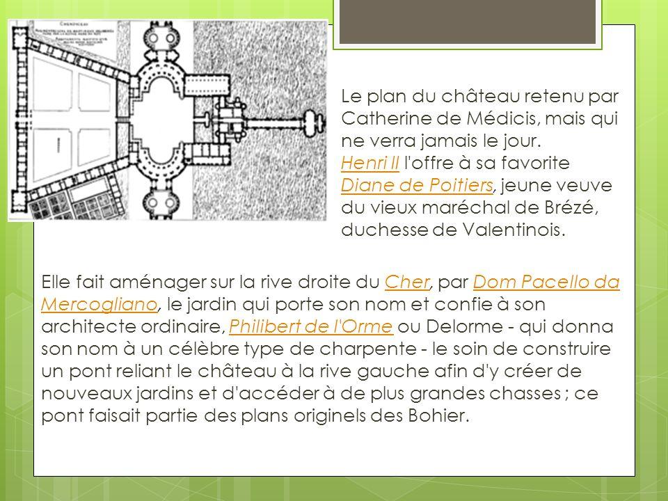 Le château de Chenonceau vous remercie de votre attention. VVVVVV