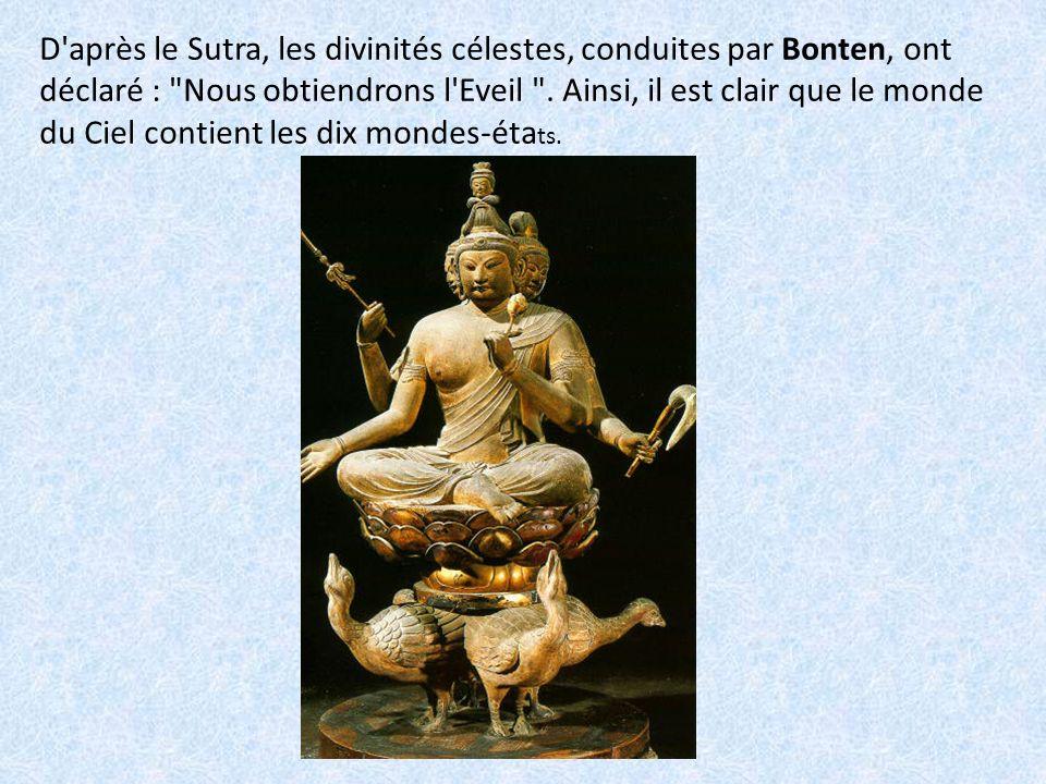 On lit toujours dans le Sutra : Dans l une de ses vies futures, Shariputra deviendra un bouddha du nom de Padmaprabha.