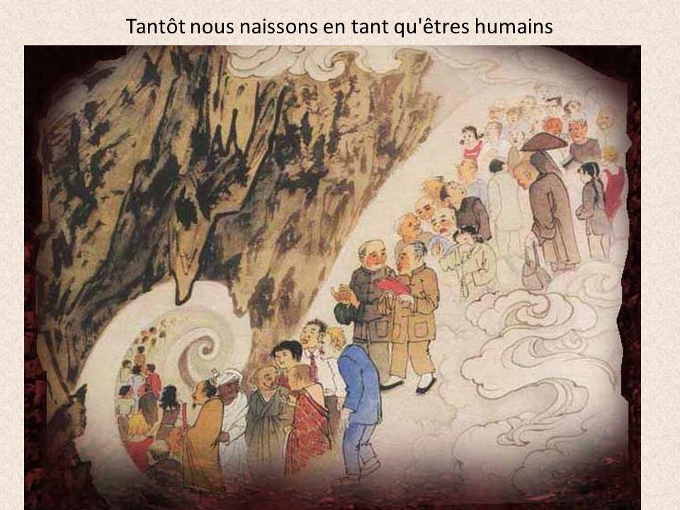 et sommes en proie aux huit souffrances que sont naître… Légende de la naissance de Siddhartha, le futur Bouddha