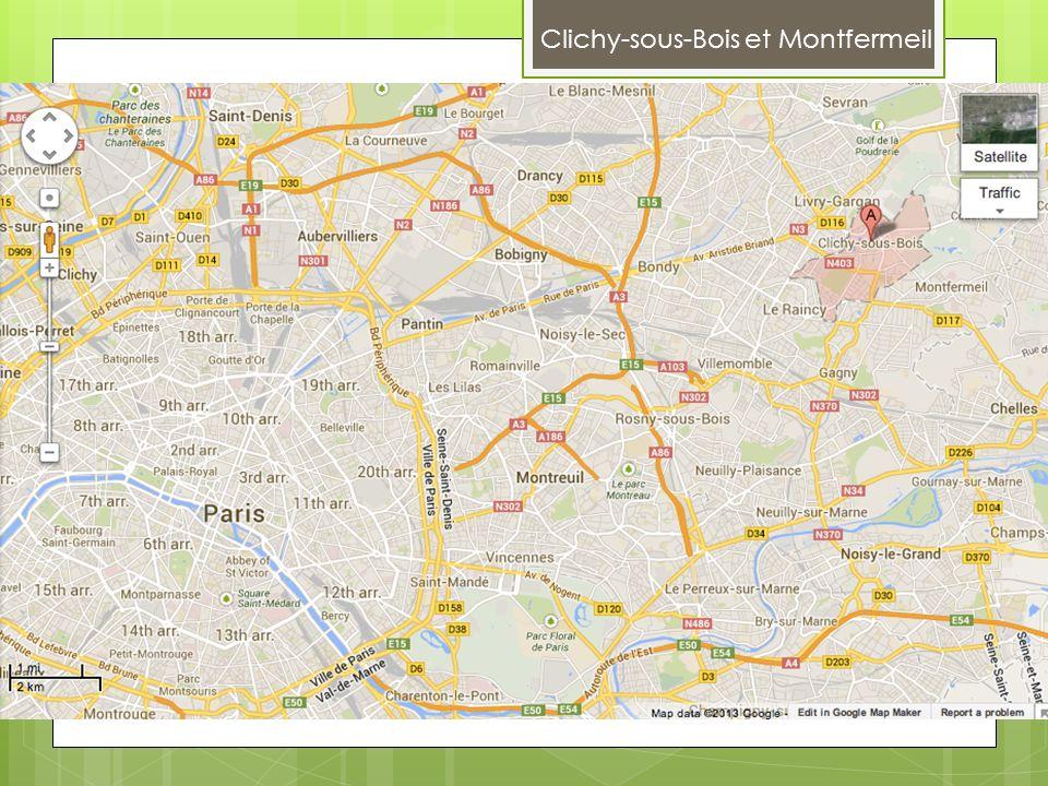 Clichy-sous-Bois et Montfermeil