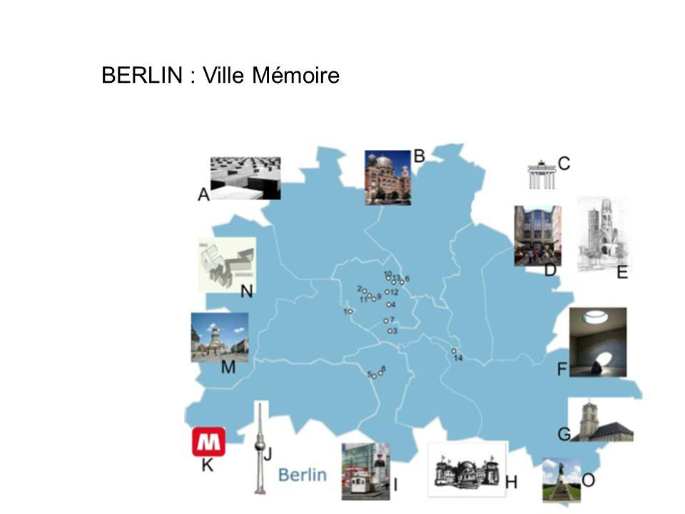BERLIN : Ville Mémoire