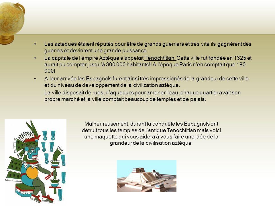 Un marché aztèque