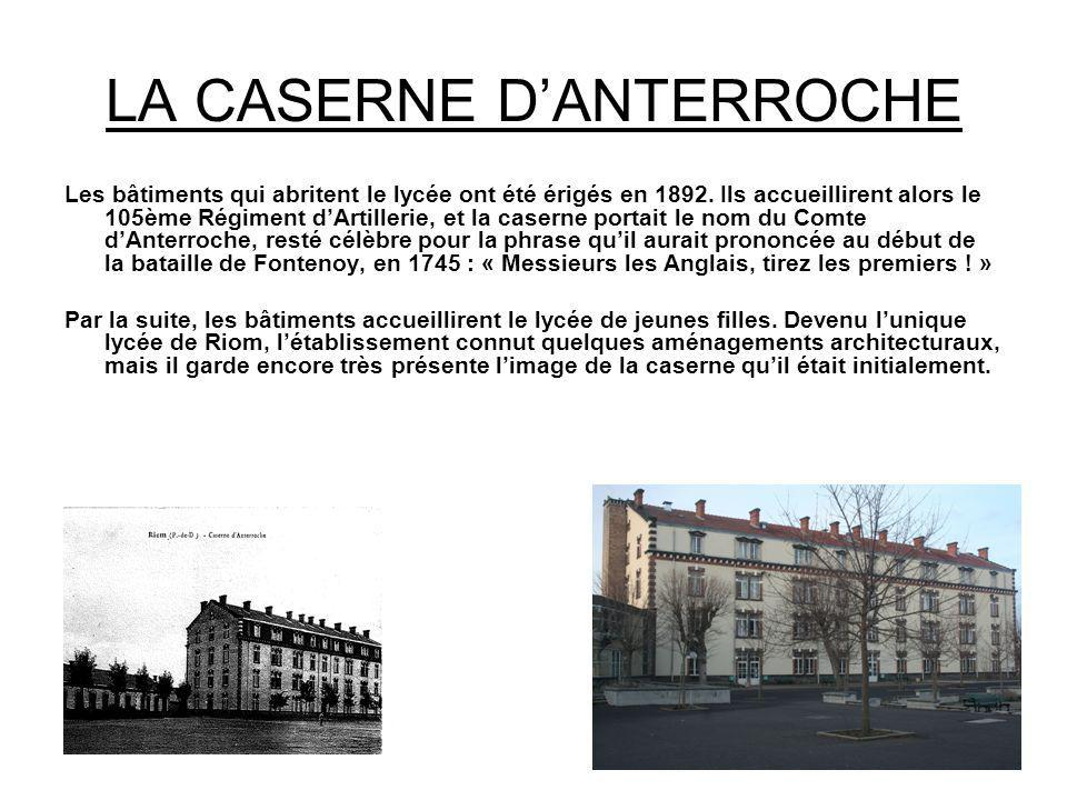 HOMMAGE AU COURAGE… Le lycée porte le nom de Claude et Pierre Virlogeux.