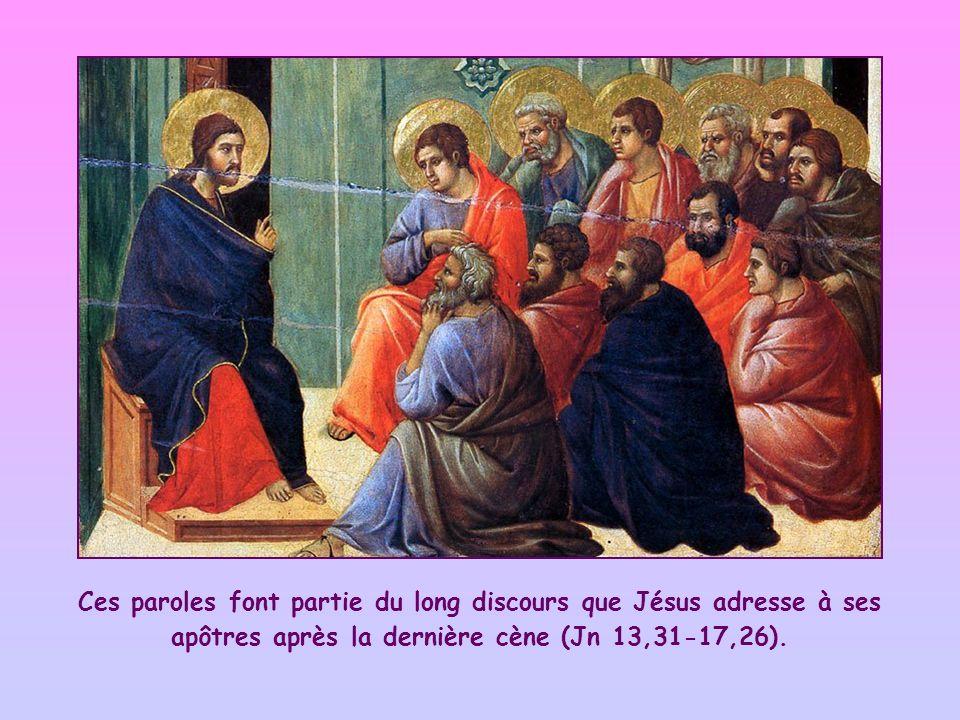 Mars 2014 Si vous observez mes commandements, vous demeurerez dans mon amour, comme, en observant les commandements de mon Père, je demeure dans son amour (Jn 15,10).