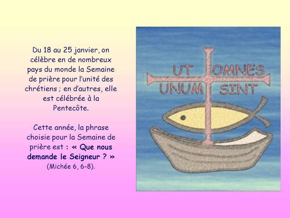 Parole de Vie Janvier 2013