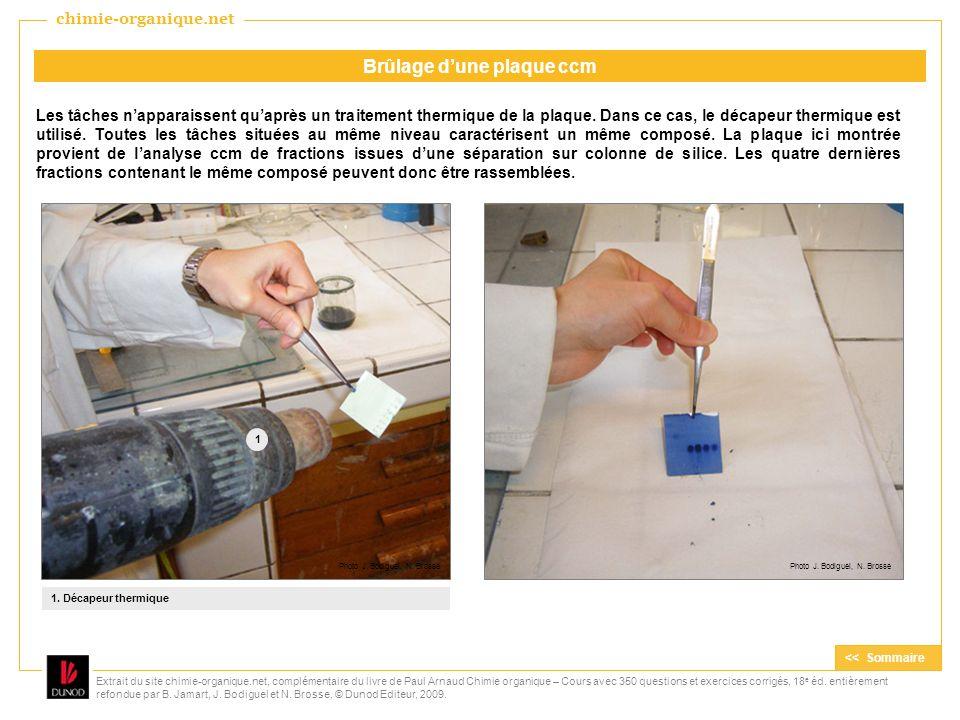 Extrait du site chimie-organique.net, complémentaire du livre de Paul Arnaud Chimie organique – Cours avec 350 questions et exercices corrigés, 18 e é