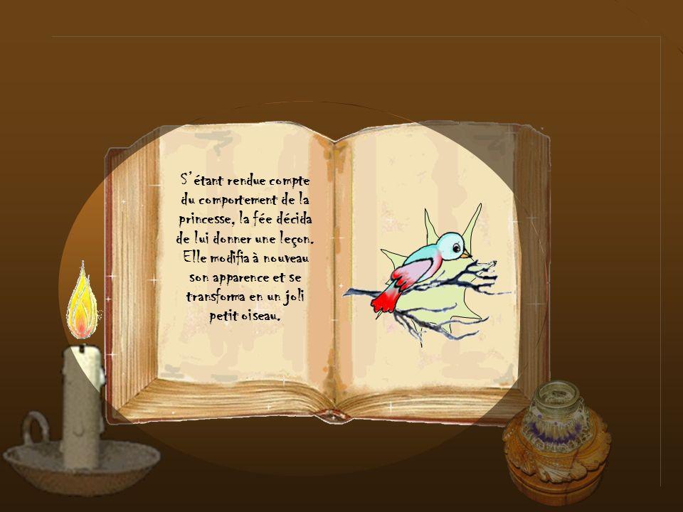Cependant, la princesse et la nounou ignoraient que la limace nétait pas une vraie limace, mais une fée qui sétait ainsi métamorphosée à la demande du