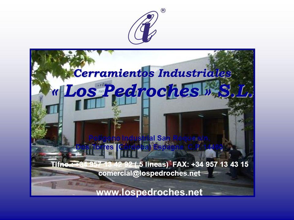 Cerramientos Industriales « Los Pedroches » S.L.