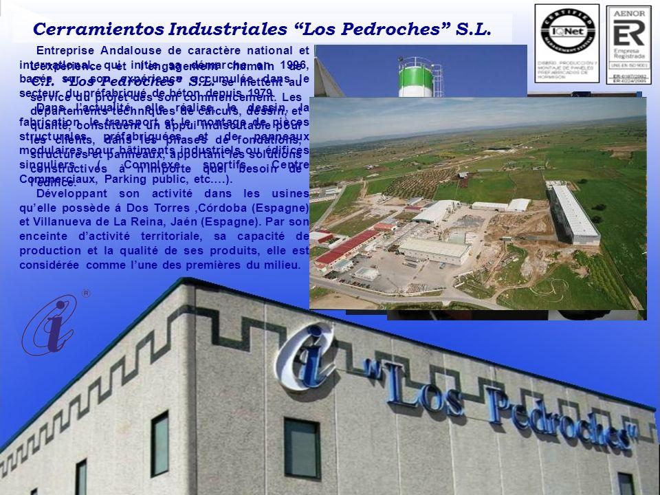 Entreprise Andalouse de caractère national et international, qui initie sa démarche en 1996, basée sur son expérience accumulée dans le secteur du préfabriqué de béton depuis 1979.