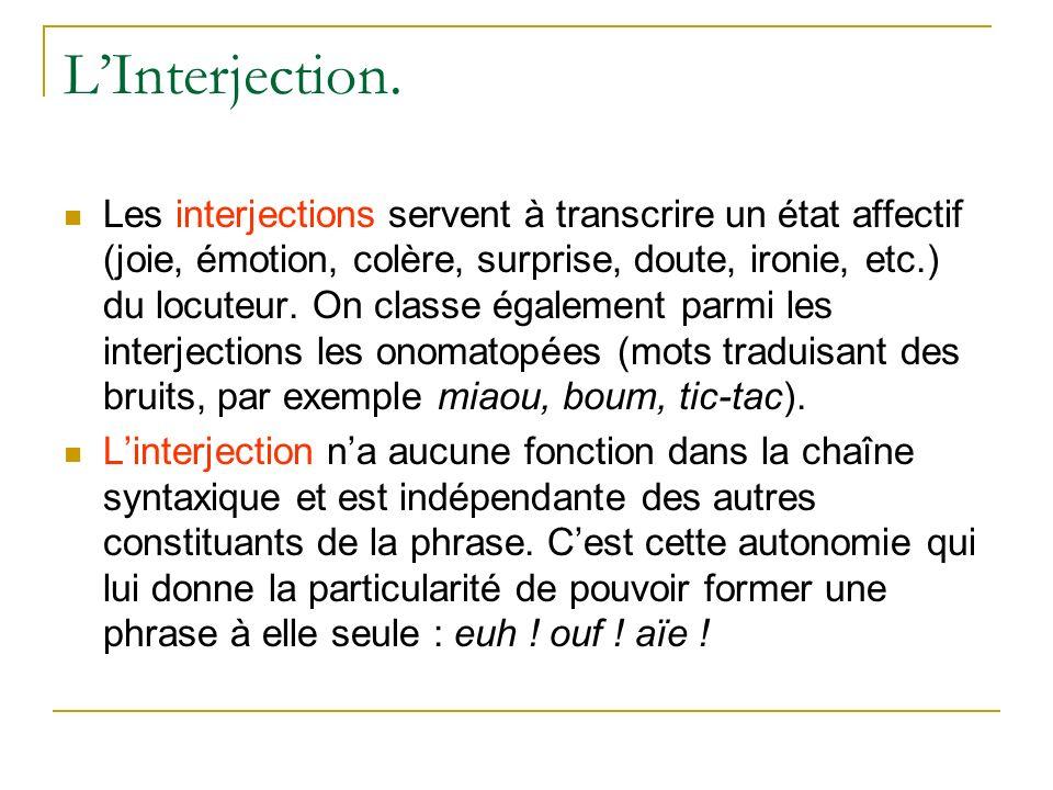 LInterjection.