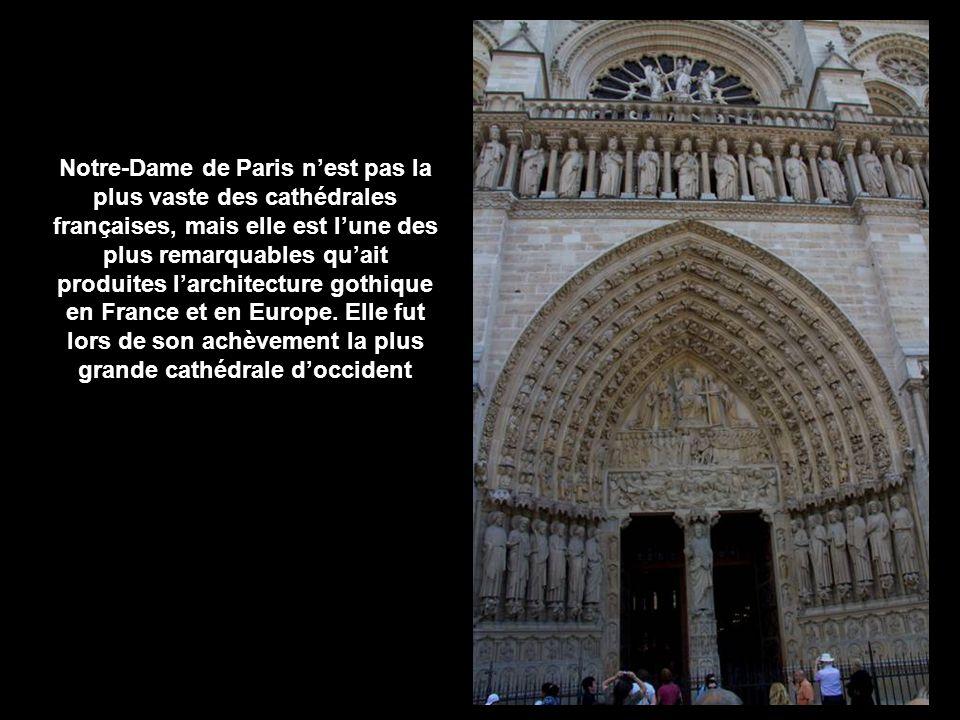 Notre-Dame de Paris, parfois simplement Notre-Dame, est la cathédrale de larchidiocèse catholique de Paris.