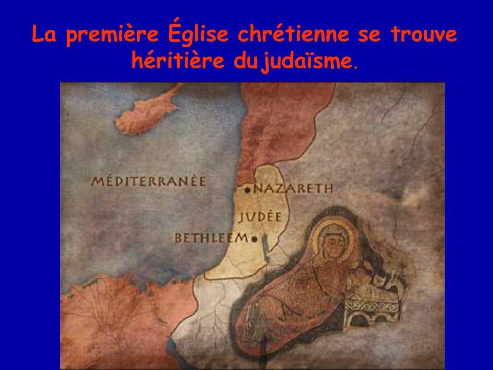Les premières hérésies de la réflexion théologique portent sur la personne du Christ.