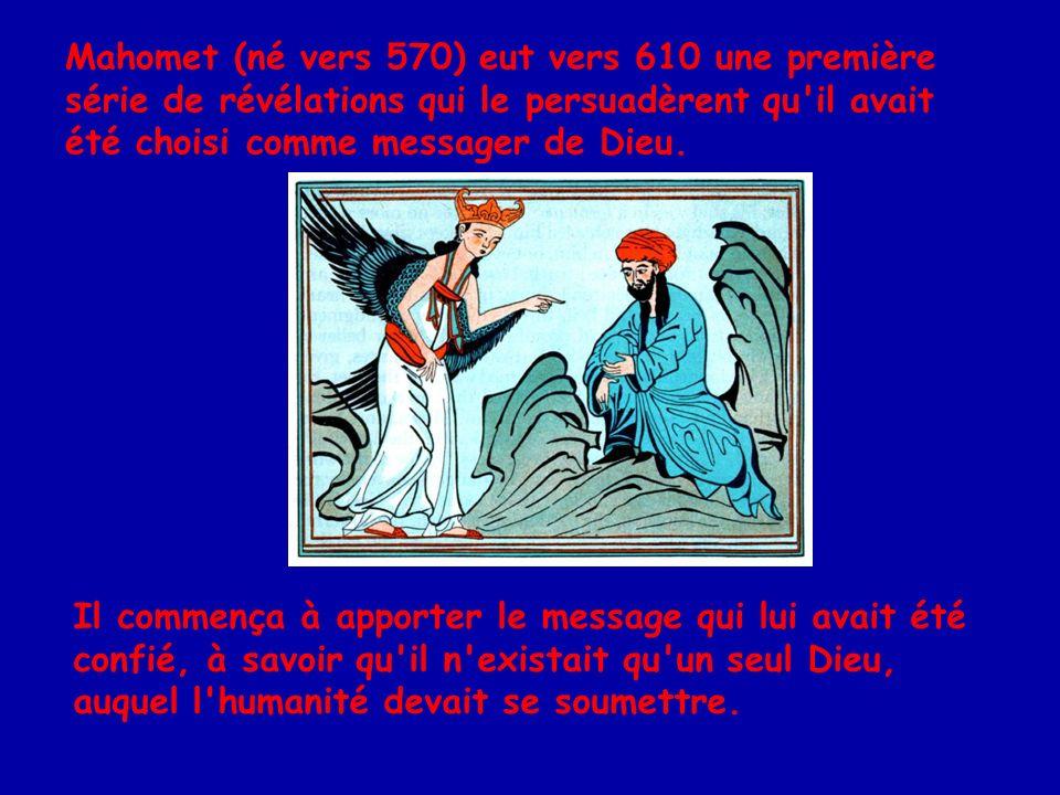 S étant attiré l animosité des Mekkois par ses attaques du polythéisme, Mahomet doit émigrer à Médine avec des disciples.