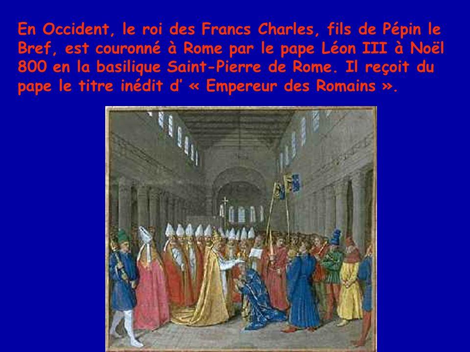 Après de nombreuses querelles idéologiques, Henri II de Germanie, en 1014, obtient du pape, Benoît VIII, pour la messe de son couronnement à Rome, ladoption du « Filioque » pour toute la liturgie romaine.