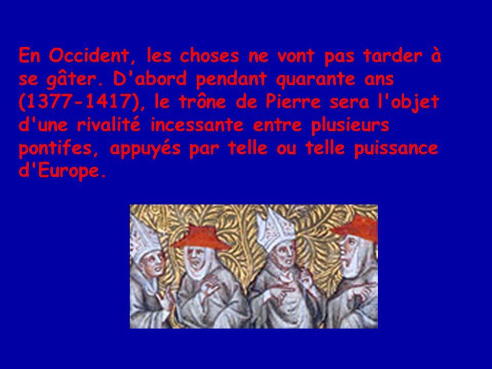 En 1505, le pape Jules II décide de construire une nouvelle basilique de Saint-Pierre à Rome.