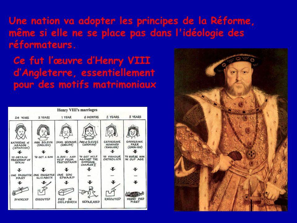 La Réforme constituait une provocation sérieuse dans la vie de l Eglise ; une réponse à cette scission devenait nécessaire.