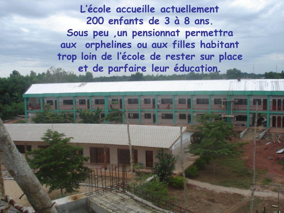 ÉCOLE SAINTE-MARCELLINE GLO YEKON, BÉNIN Fondée en 2006 par les Sœurs de Sainte-Marcelline