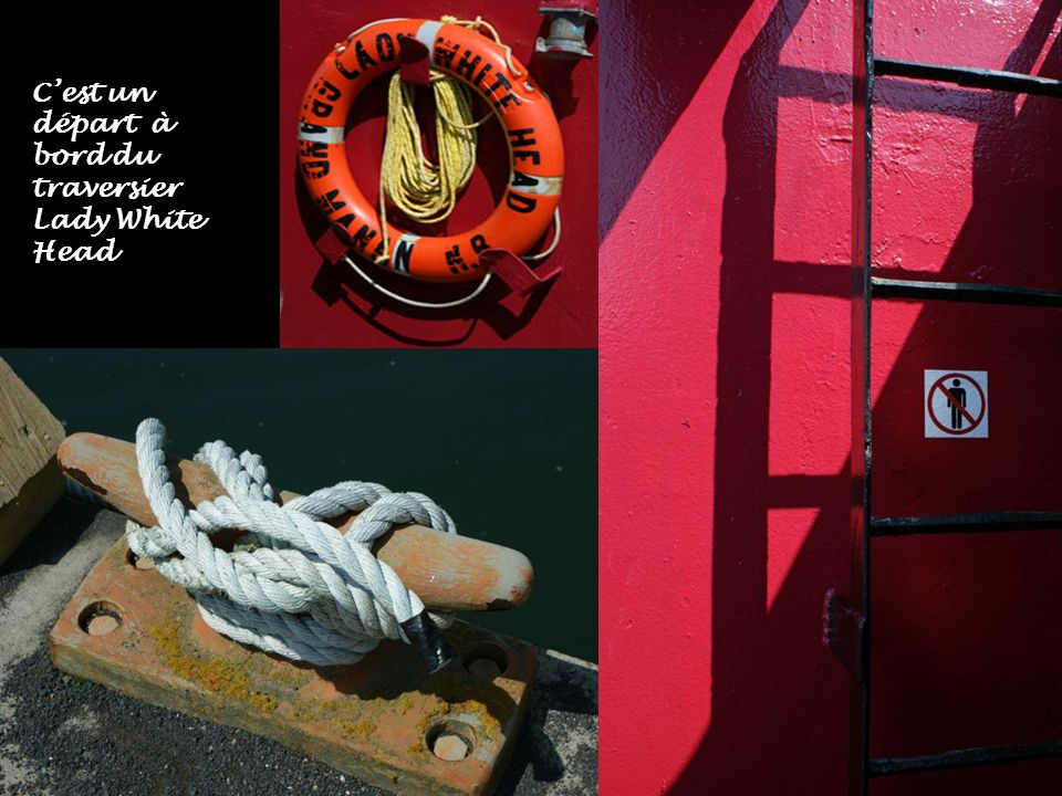 Traversier amarré à Ingalls Head Breakwater qui nous amène à White Head island. La traversée prend 20 minutes et le passage est gratuit, mais il ne pr