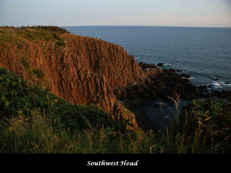 Coucher de soleil à Southwest Head