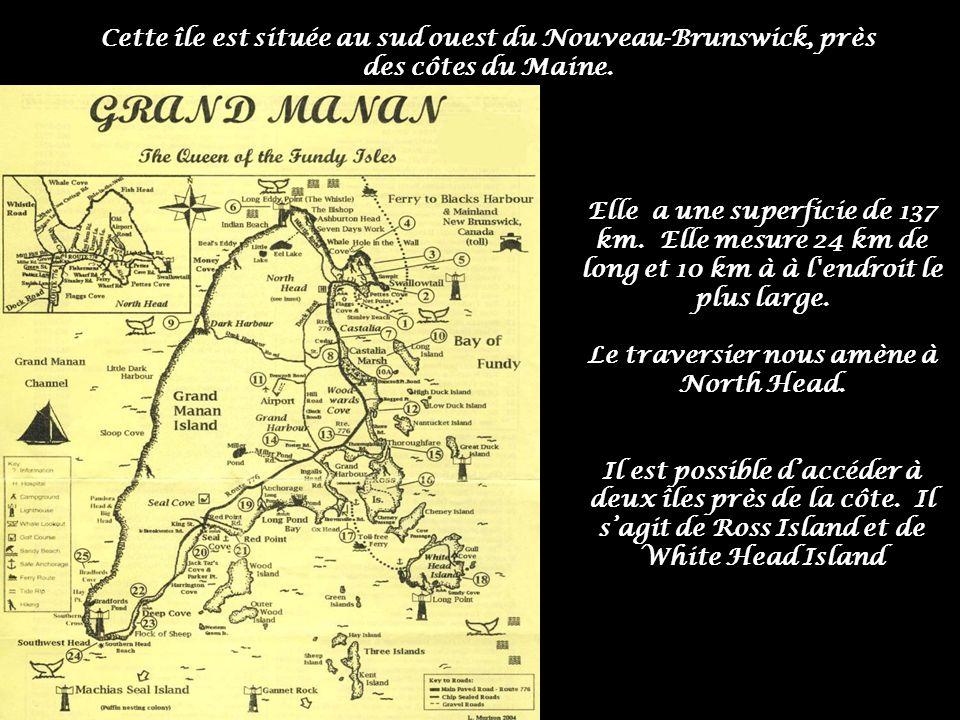 Elle a une superficie de 137 km.Elle mesure 24 km de long et 10 km à à l endroit le plus large.