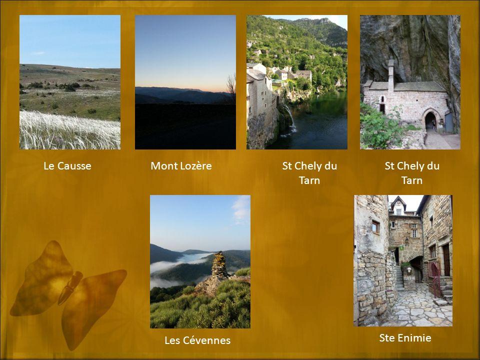 Le Causse Les Cévennes St Chely du Tarn Ste Enimie St Chely du Tarn Mont Lozère