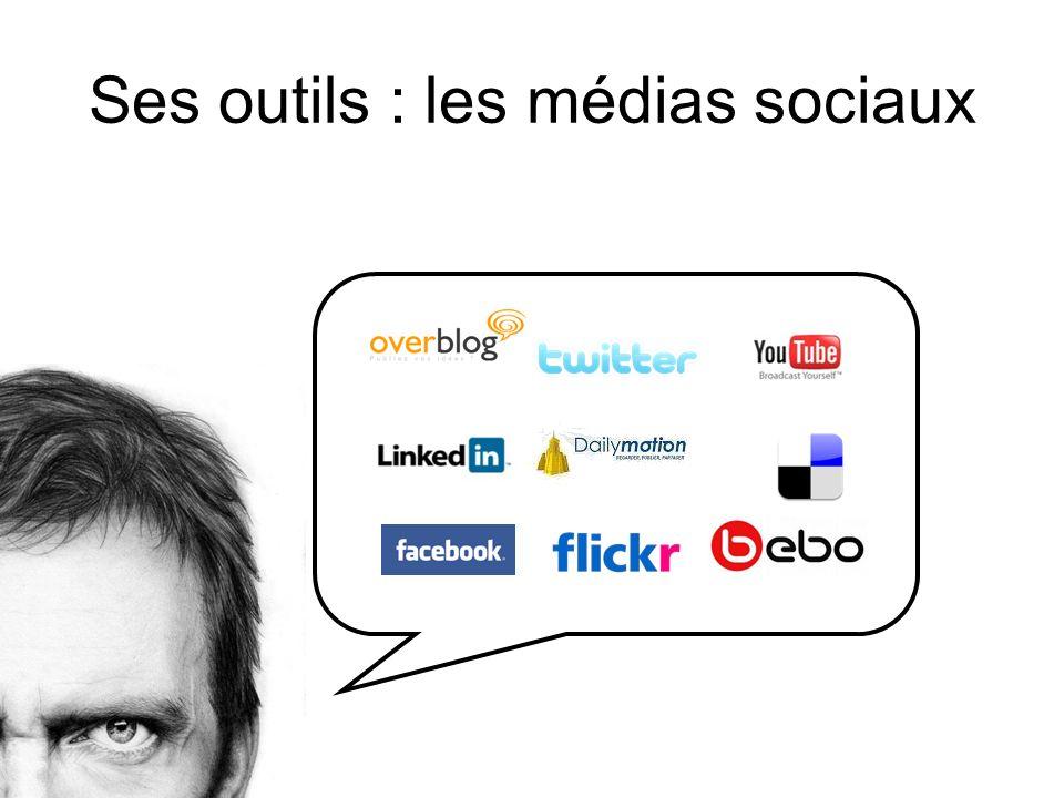 Ses outils : les médias sociaux