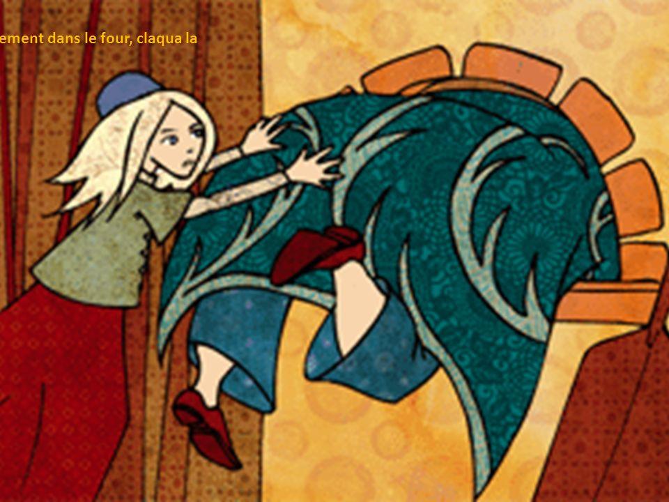 Gretel se mit à pleurer, mais cela ne lui servit à rien.