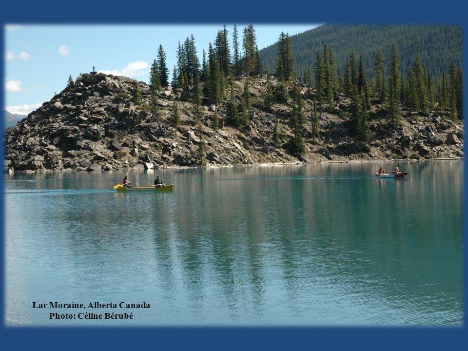 Lac Moraine, Alberta Canada Photo: Céline Bérubé
