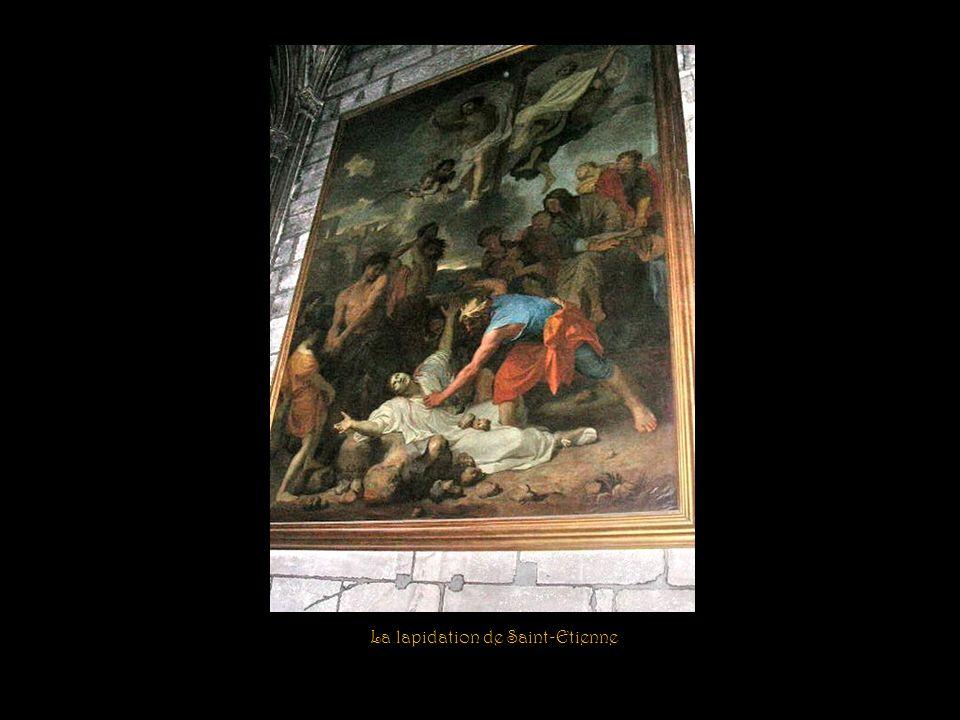 Jésus apparaissant aux Sainte Femmes Clôture méridionale du chœur