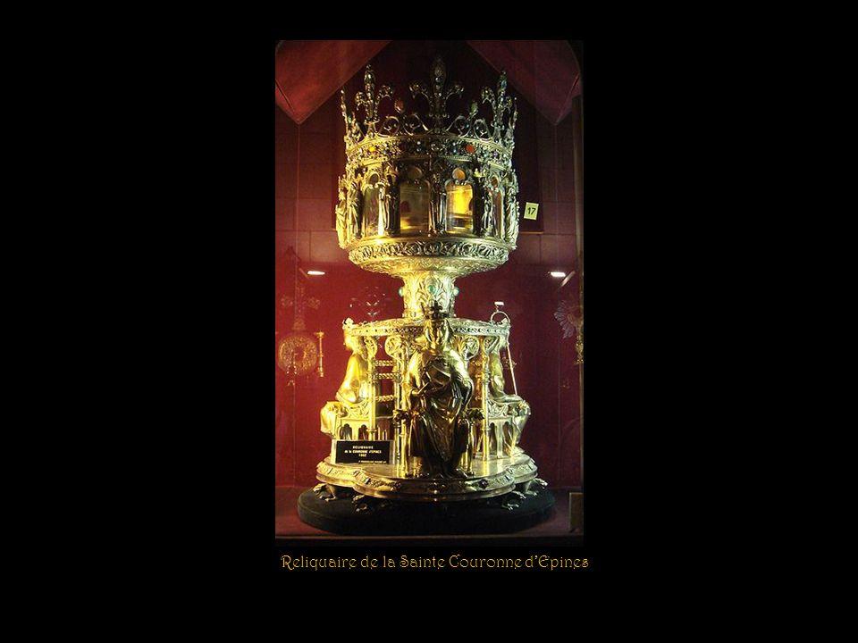 Vitrail de la Sacristie du Chapitre Mort de Sainte-Geneviève