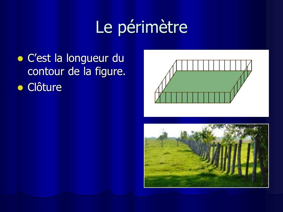 Carré Quatre côtés de même longueur Quatre côtés de même longueur P = 4c P = 4c
