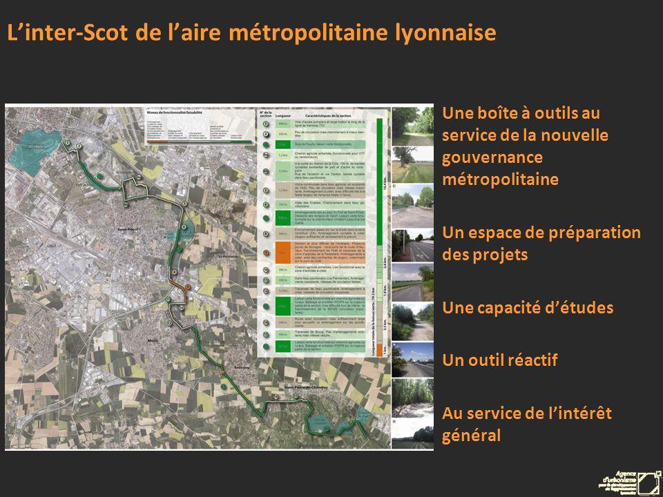 Linter-Scot de laire métropolitaine lyonnaise Une boîte à outils au service de la nouvelle gouvernance métropolitaine Un espace de préparation des pro