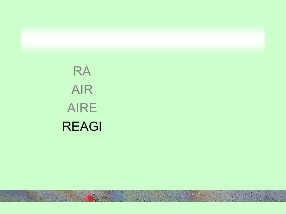 RA AIR AIRE REAGI