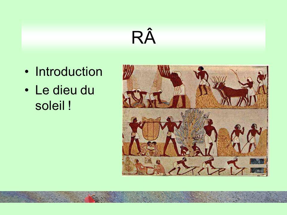 RÂ Introduction