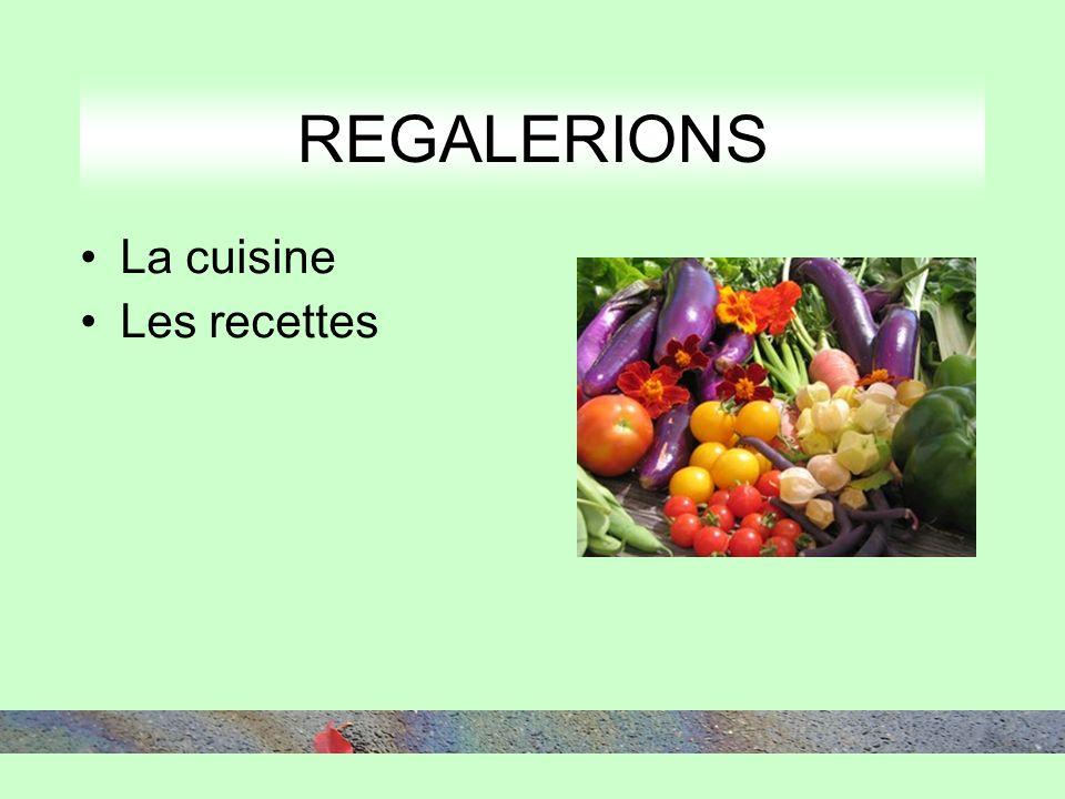 La cuisine Les recettes