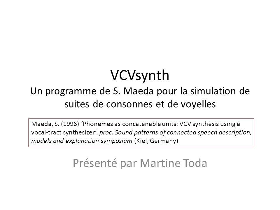 Stevens 1998, p. 382-383 Aire de la constriction Aire glottale Débit dair oral V F V
