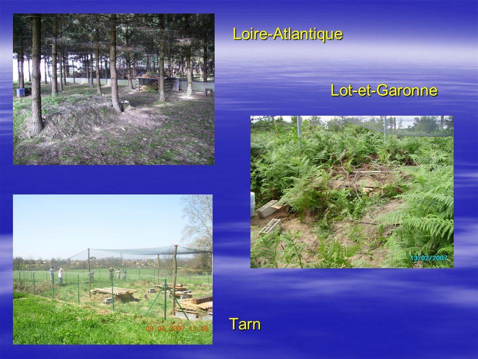 Tarn Loire-Atlantique Lot-et-Garonne