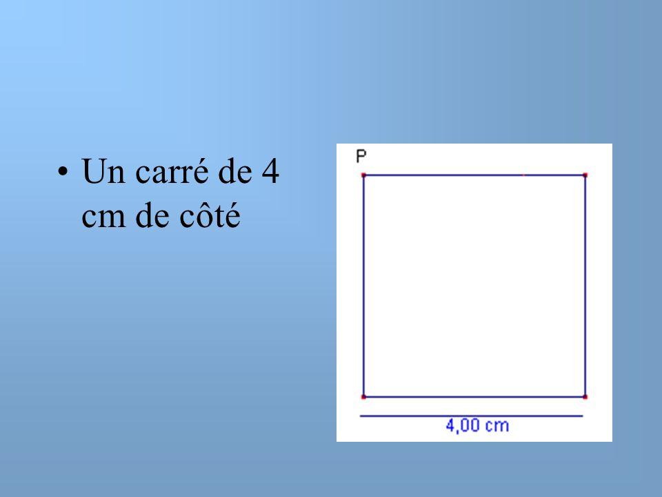 Volume maximum dune boîte A partir dun carré de 4cm de côté, on construit une boîte sans couvercle en enlevant des carrés de même aire aux 4 coins. Dé