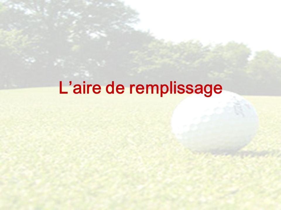 LAIRE DE REMPLISSAGE