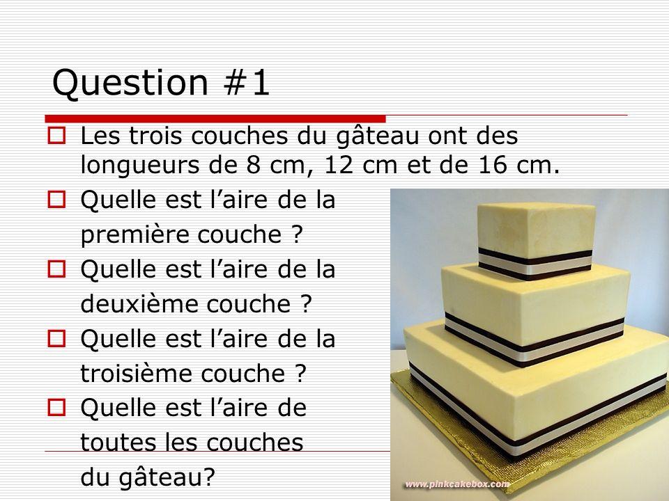 Question #2 a).La distance entre le point de départ et le premier but est 90 pieds.
