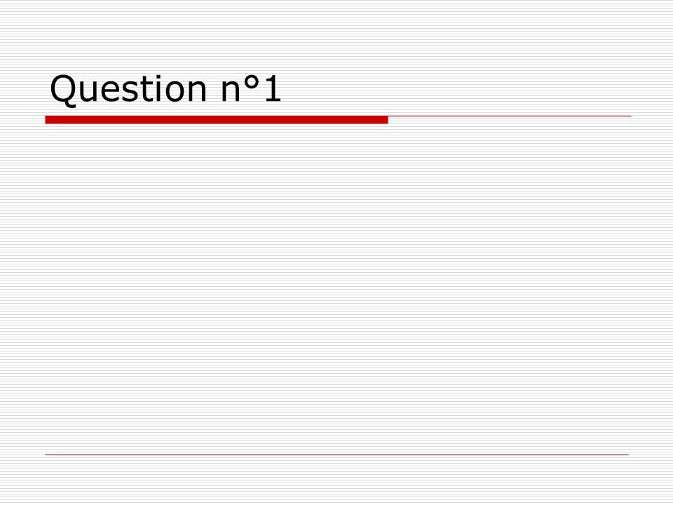 Notation Compte 0,5 point par bonne réponse Indique le total sur 5 au bout de la ligne