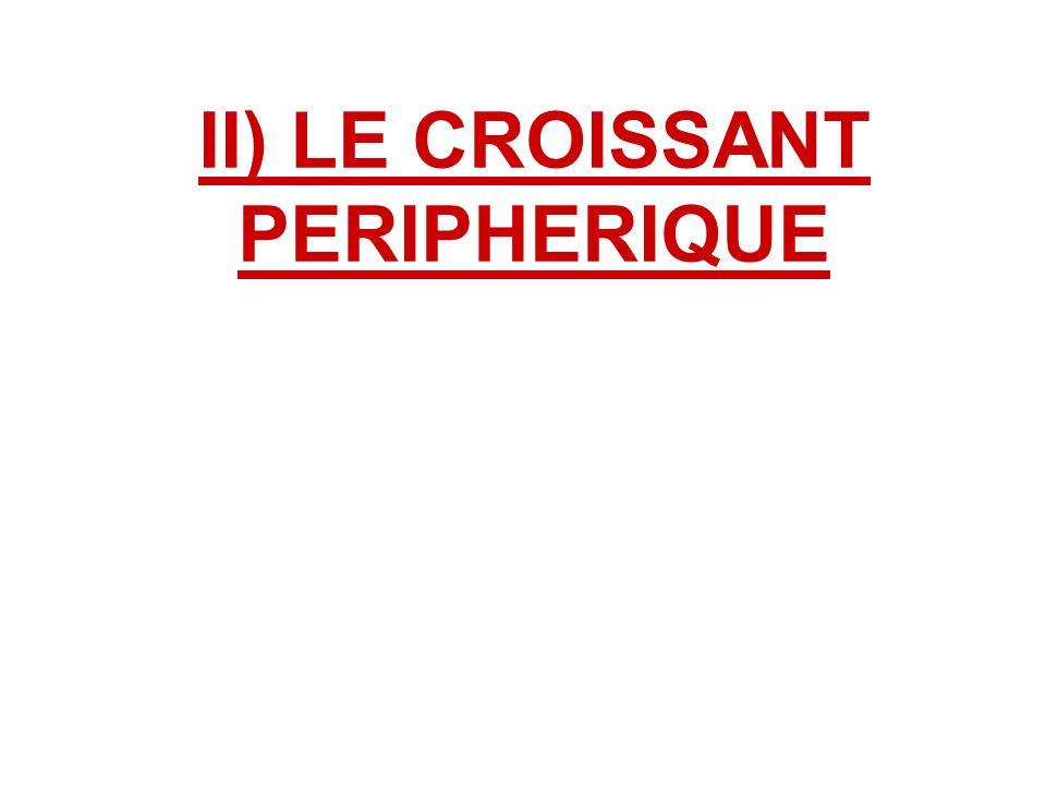 II) LE CROISSANT PERIPHERIQUE