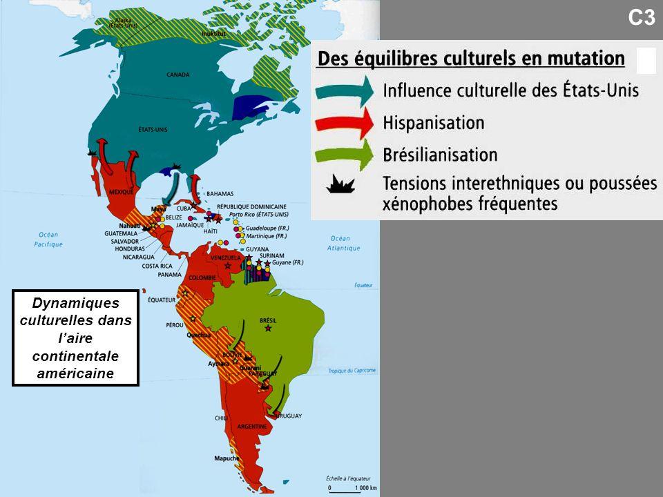 Dynamiques culturelles dans laire continentale américaine C3