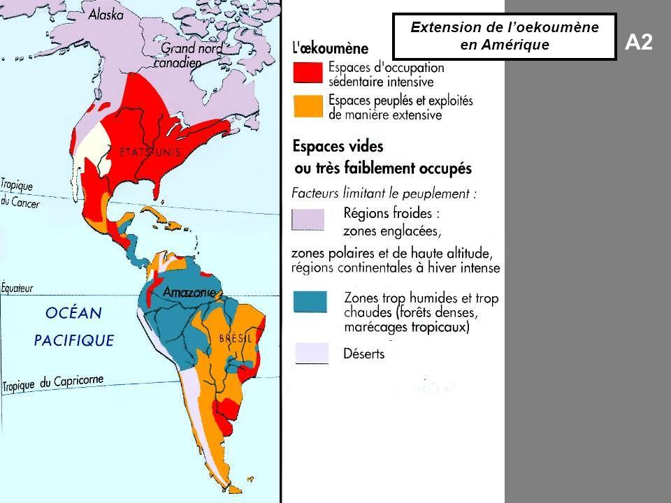 A2 Extension de loekoumène en Amérique