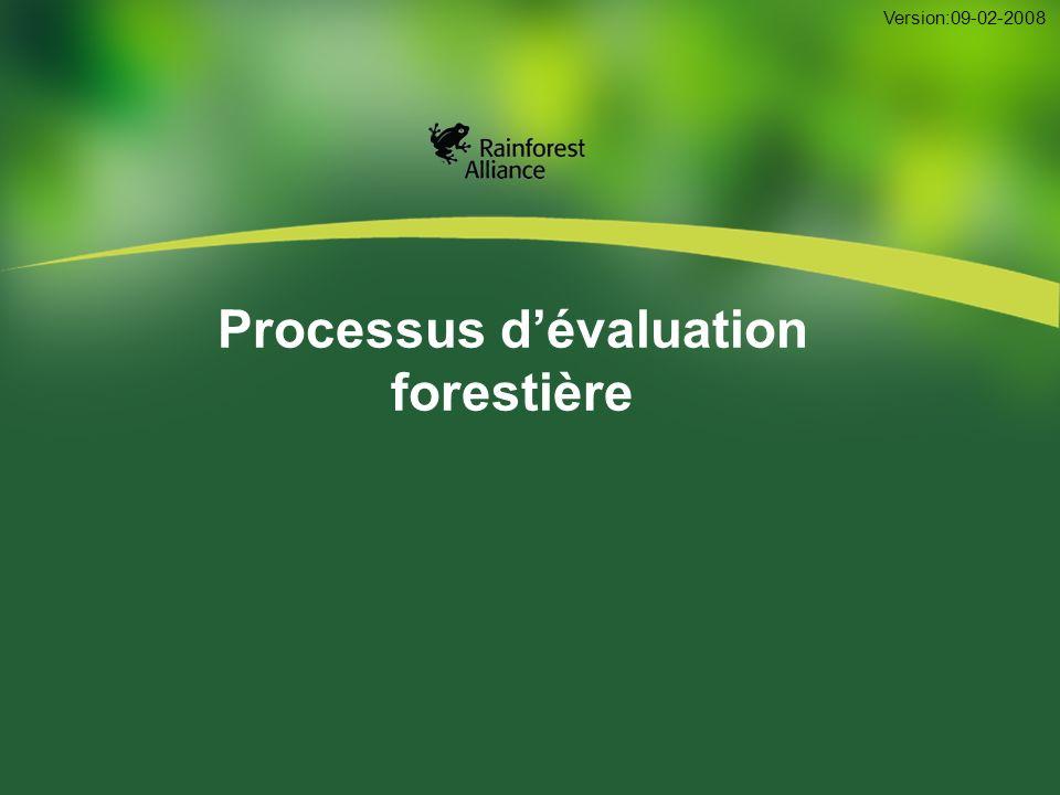 22 Conformité constante aux P&C Le FSC requiert l évaluation de la conformité selon la norme d AF complète pour toute la période de certification.