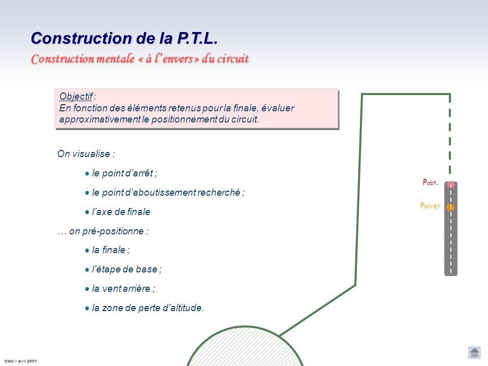 PRINCIPE DE CONSTRUCTION ET DIMENSIONNEMENT DE LA P.T.L.