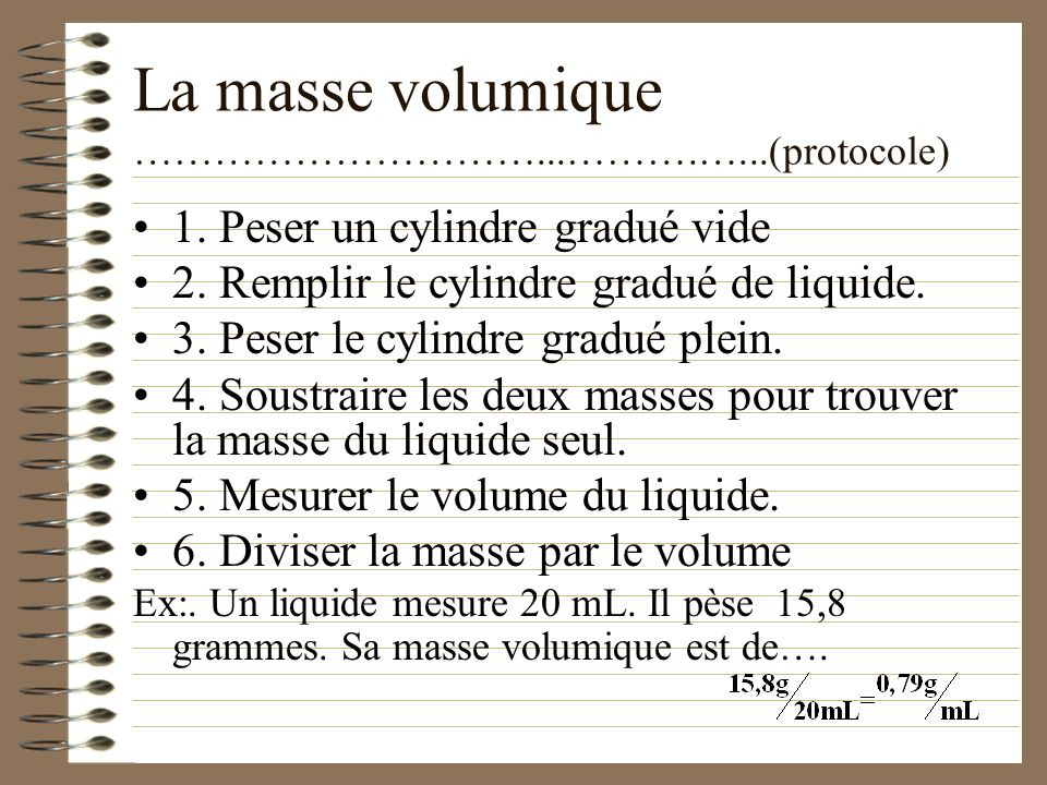 2. Propriétés caractéristiques ……………………………...….…...(des liquides) Les propriétés caractéristiques nous permettent didentifier une substance liquide Co