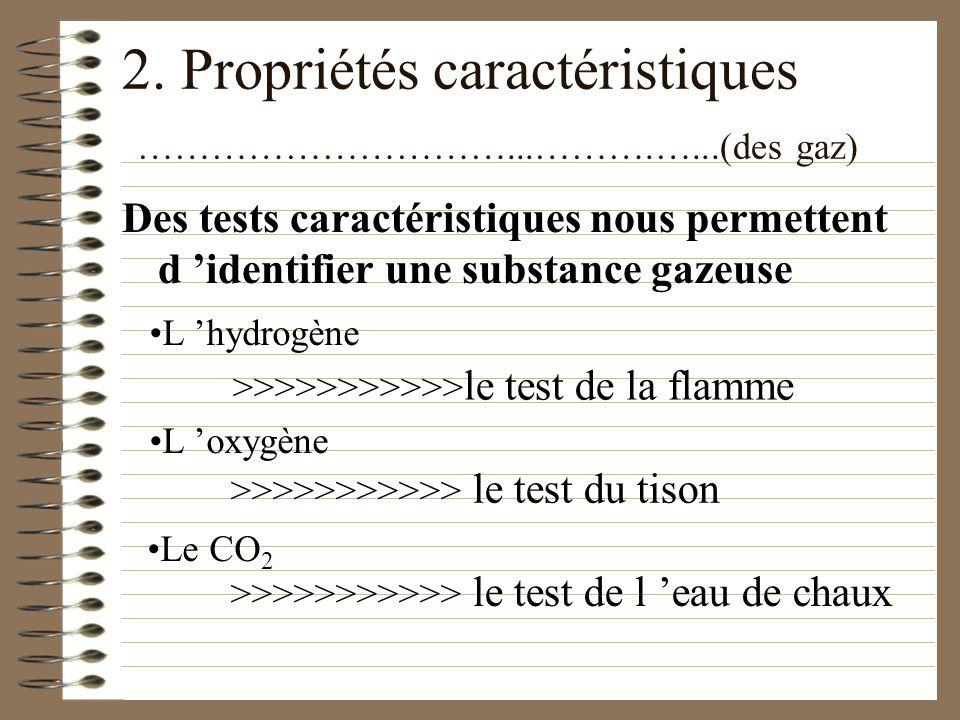 5. La classification des éléments